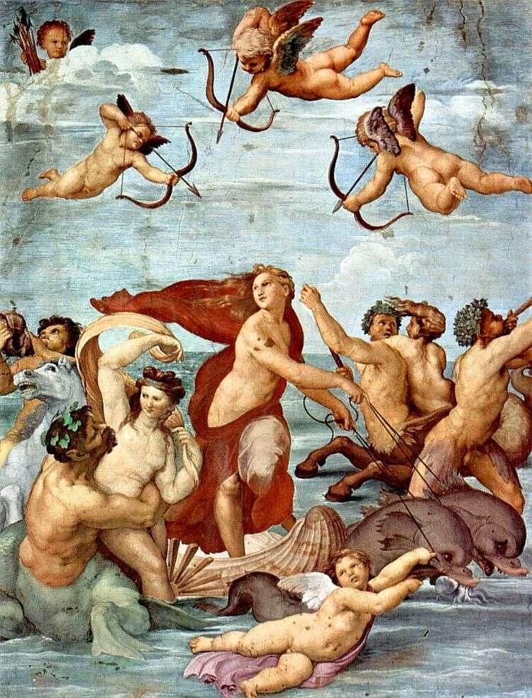 Триумф Галатеи (фреска)   Рафаэль Санти