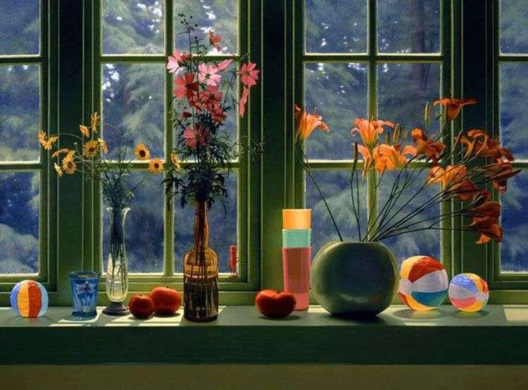 Натюрморт у окна   Скотт Прайор