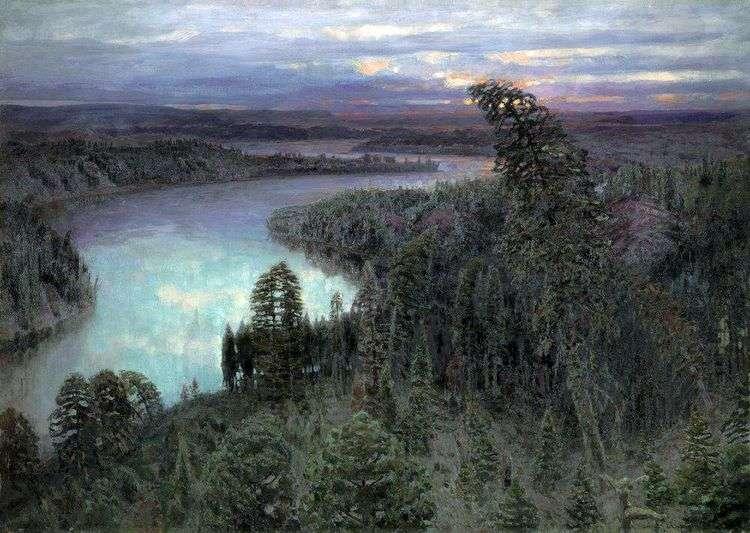 Северный край   Виктор Васнецов