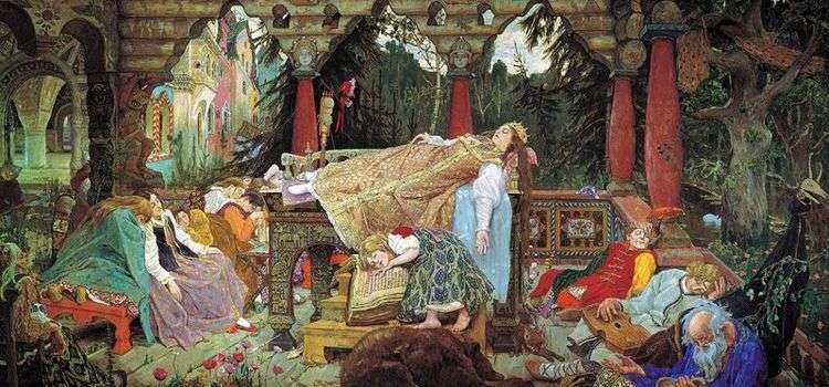 Спящая царевна   Виктор Васнецов