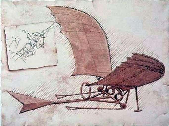 Аэроплан   Леонардо да Винчи