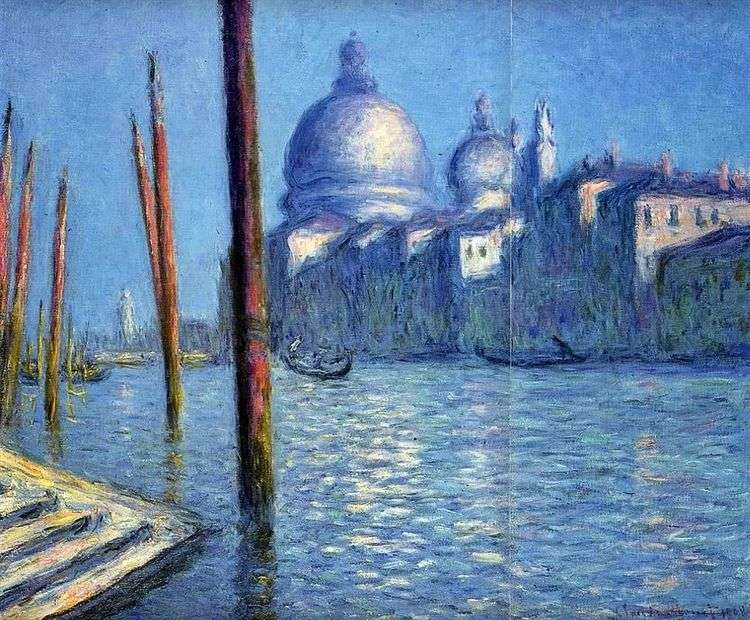 Виды Венеции (Большой канал)   Клод Моне