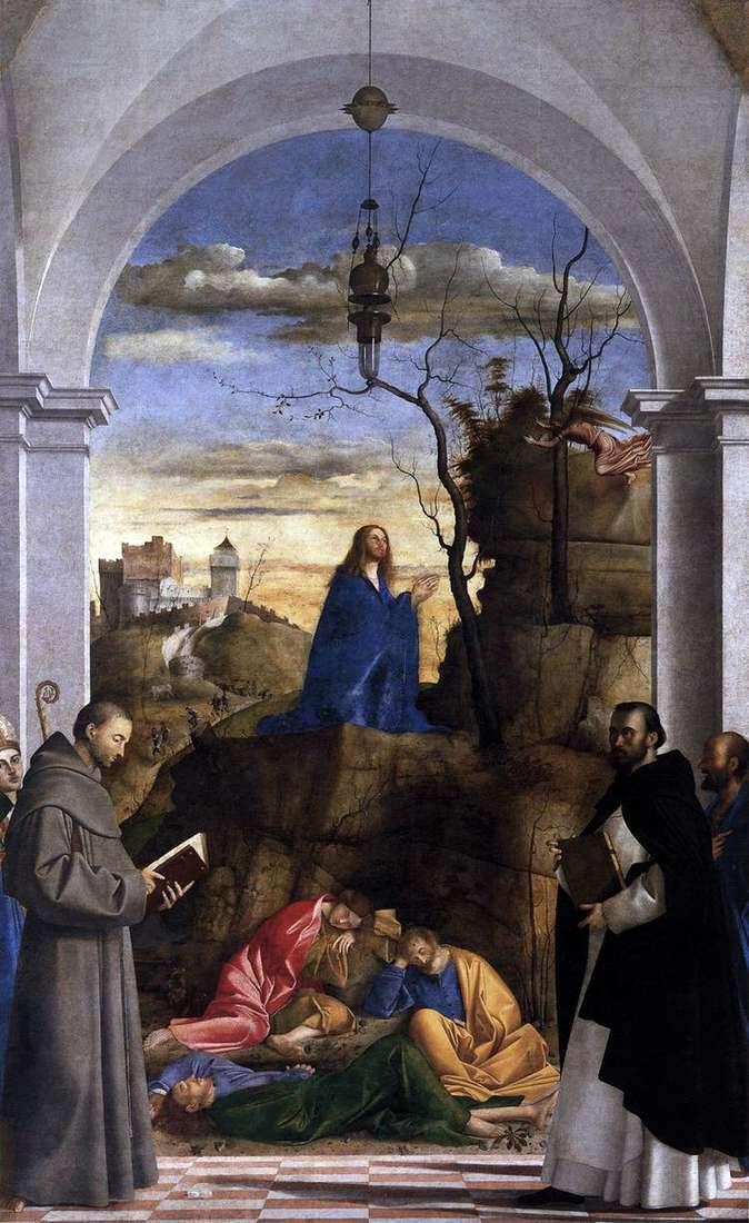 Христос на Масленичной горе   Марко Базаити