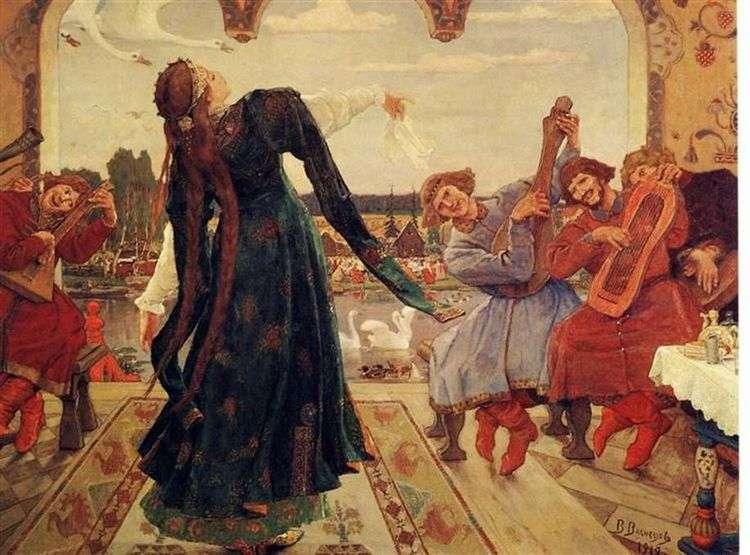 Царевна лягушка   Виктор Васнецов