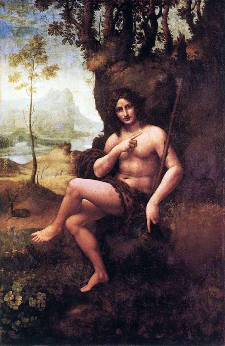 Вакх   Леонардо Да Винчи