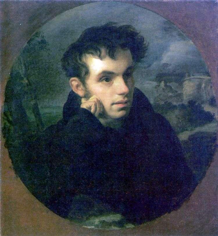 Портрет В. А. Жуковского   Орест Кипренский
