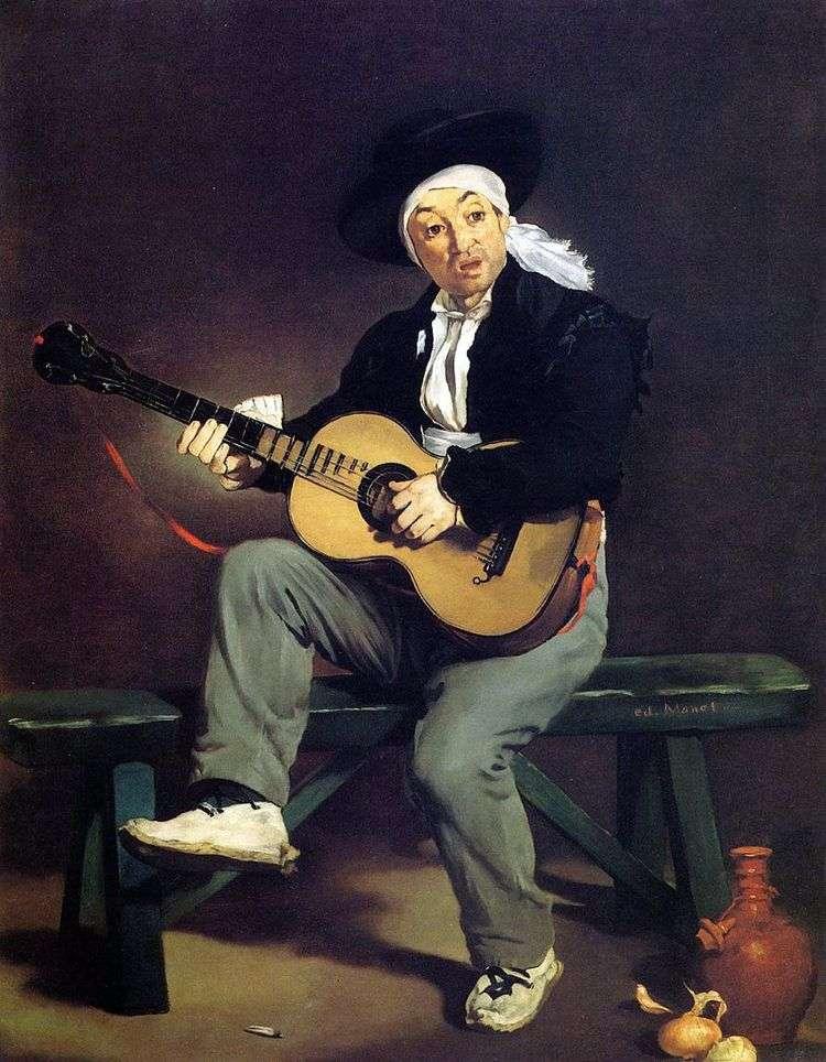 Испанский гитарист   Эдуард Мане