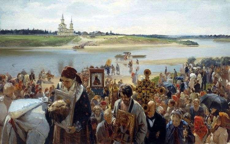 Крестный ход   Илларион Прянишников