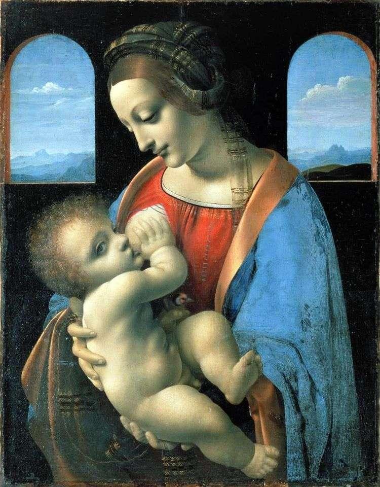 Мадонна Литта   Леонардо Да Винчи