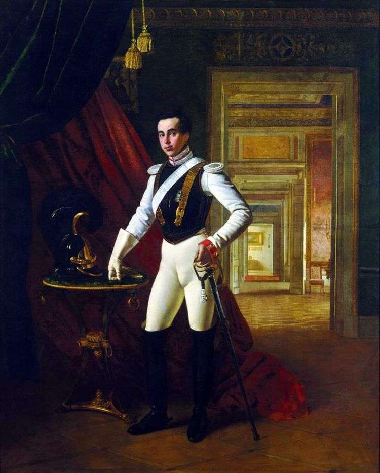 Портрет графа Д. Н. Шереметева   Орест Кипренский