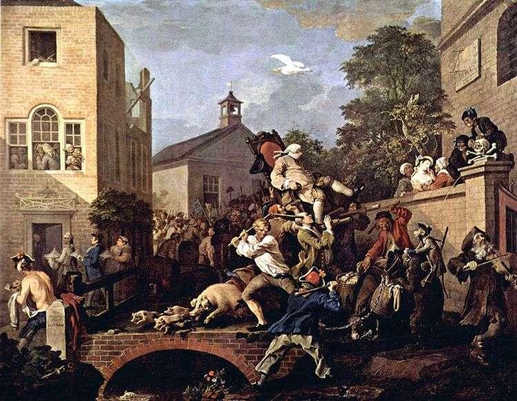 Триумфальное шествие   Уильям Хогарт