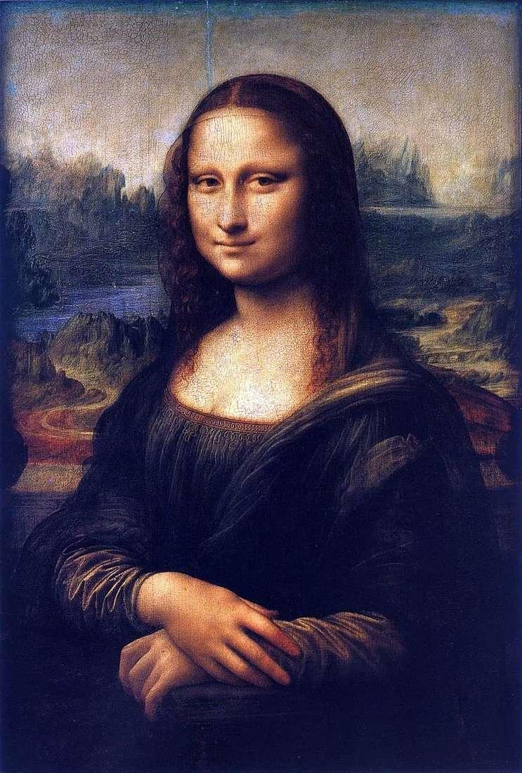 Мона Лиза или Джоконда   Леонардо Да Винчи