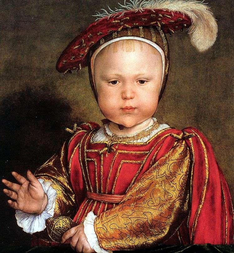 Эдуард, принц Уэльский   Ганс Хольбейн(Младший)