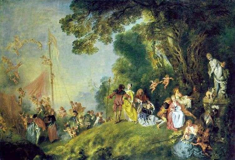 Паломничество на остров Киферу   Жан Антуан Ватто