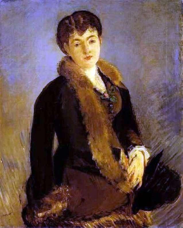 Портрет Изабель Лемонье   Эдуард Мане