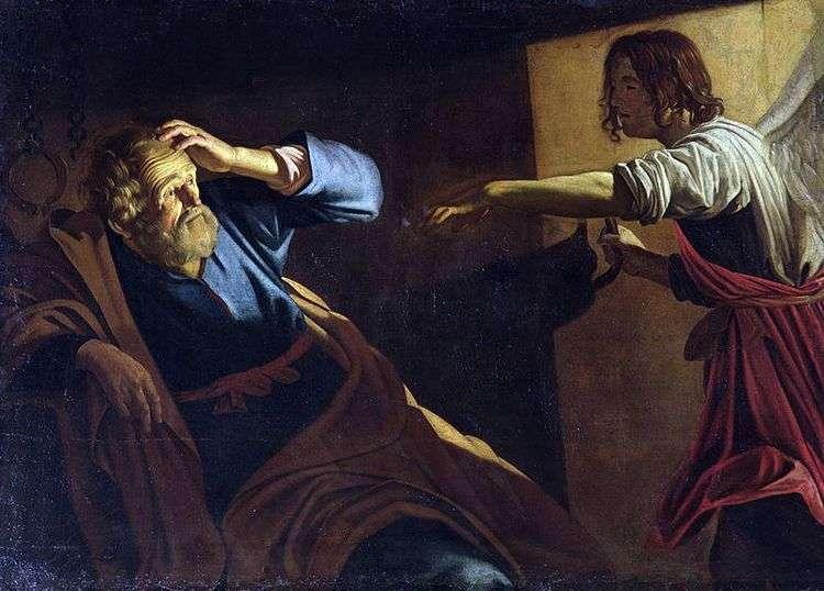 Освобождение св. Петра   Геррит ван Хонхорст