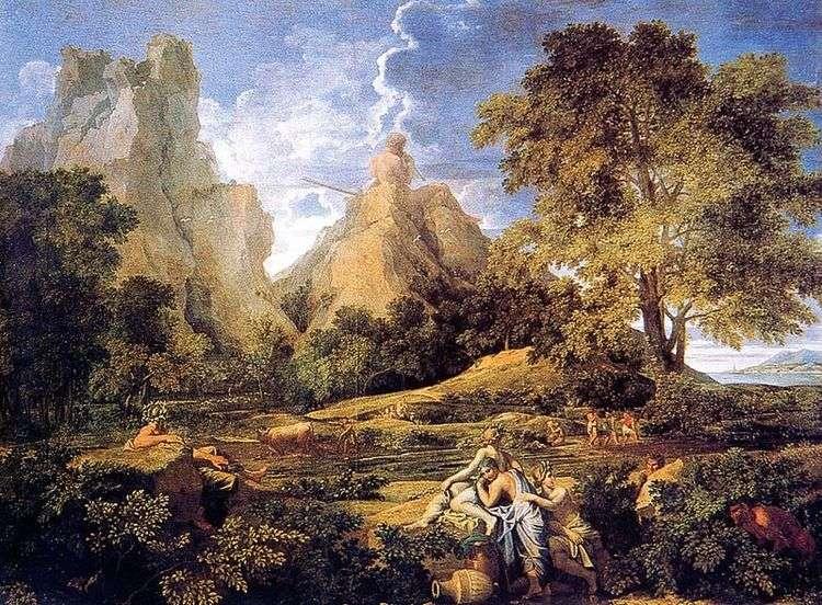 Пейзаж с Полифемом   Никола Пуссен