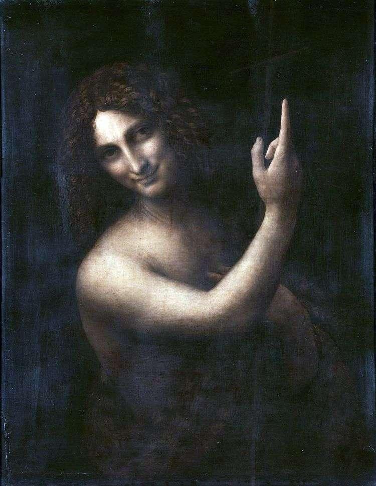 Святой Иоанн Креститель   Леонардо да Винчи