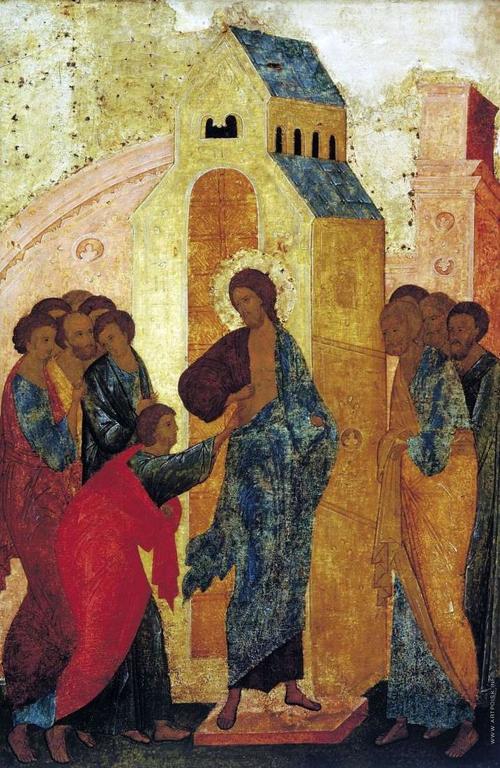 Дионисий и мастерская   Уверение Фомы