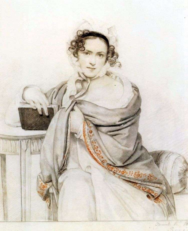 Портрет С. С. Щербатовой   Орест Кипренский
