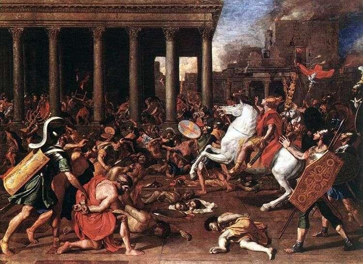 Разрушение храма в Иерусалиме   Никола Пуссен