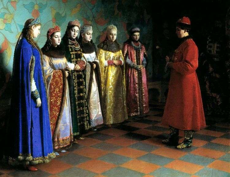 Выбор невесты царем Алексеем Михайловичем   Григорий Седов