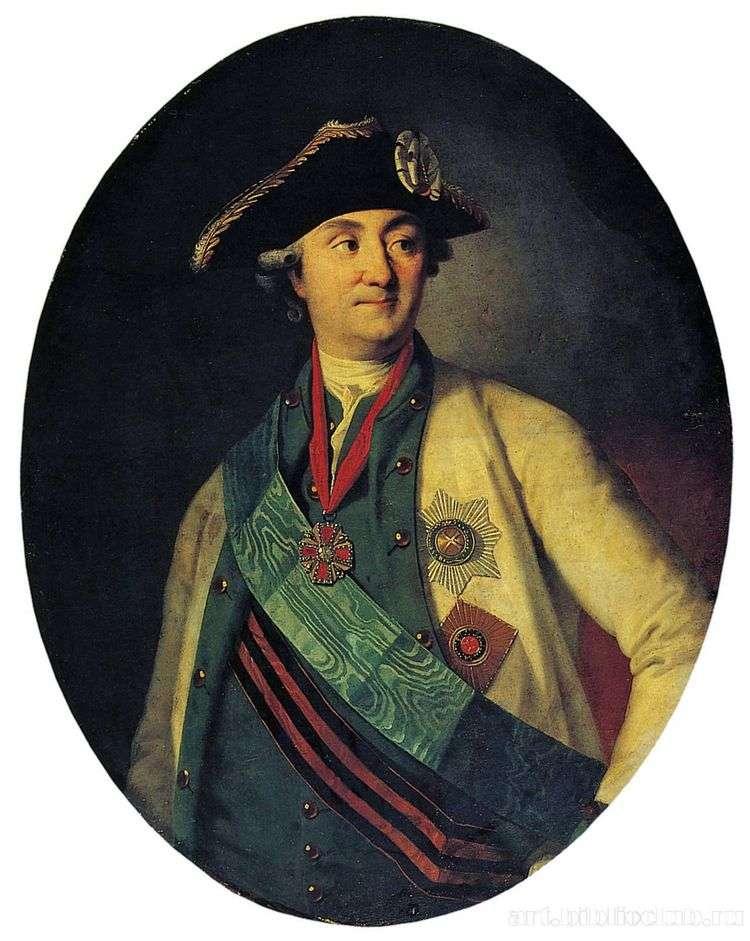 Портрет графа А. Г. Орлова Чесменского   Карл Людвиг Христинек