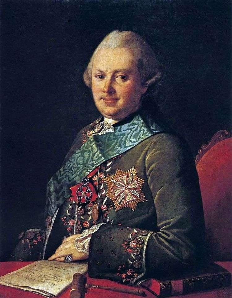 Портрет князя А. А. Вяземского   Карл Людвиг Христинек