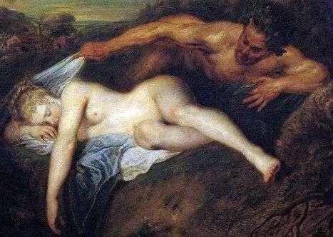 Юпитер и Антиопа   Жан Антуан Ватто