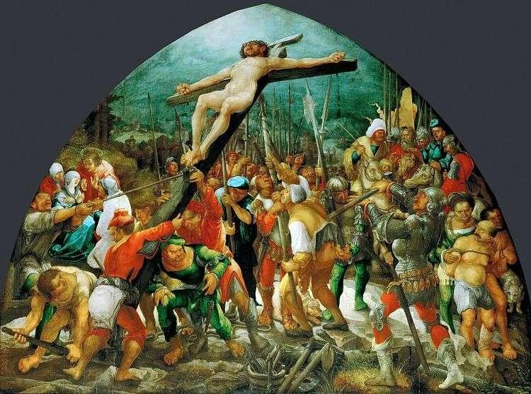 Воздвижение креста   Вольф Хубер