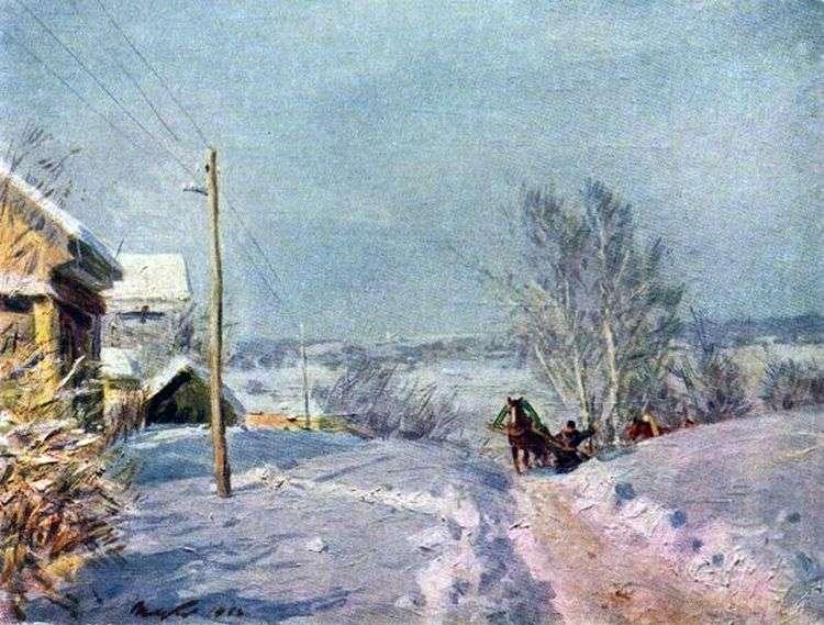 Мороз и солнце   Виктор Цыплаков
