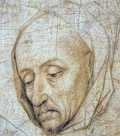 Голова святого Иосифа   Рогир ван дер Вейден