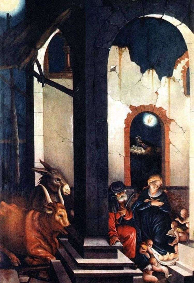Рождество Христово   Ганс Бальдунг
