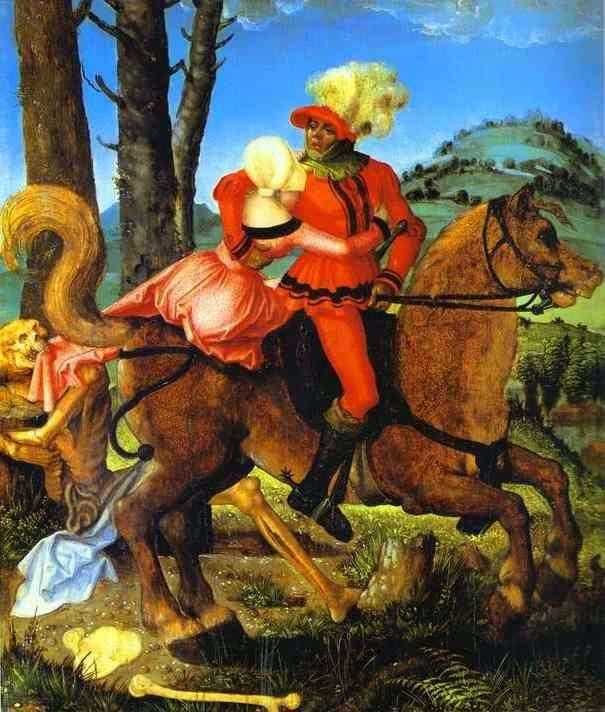 Рыцарь, молодая девушка и смерть   Ганс Бальдунг