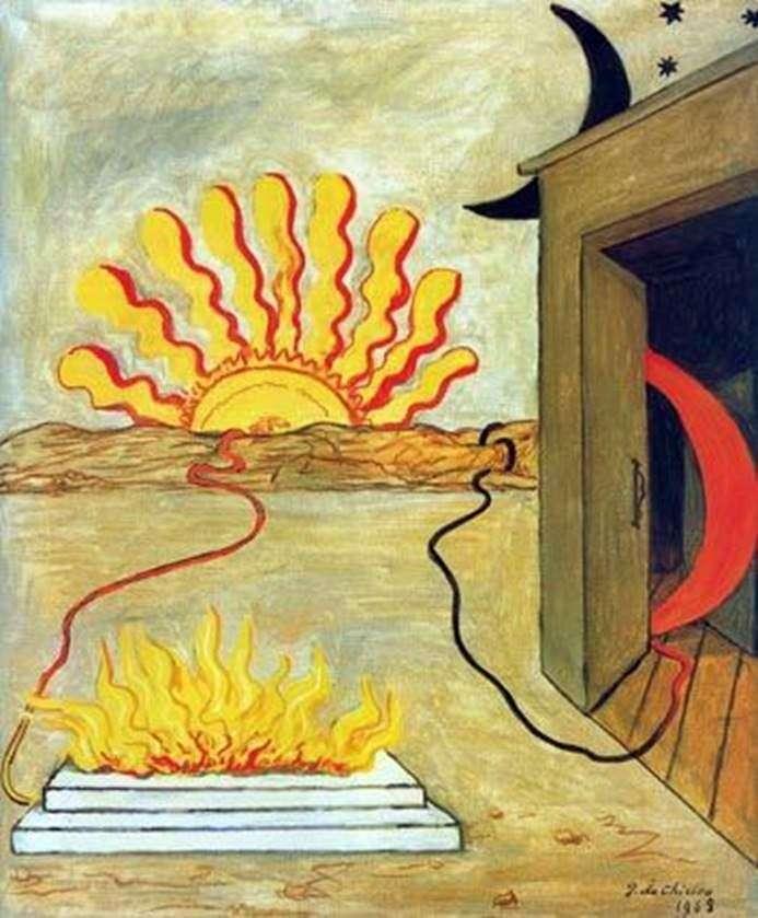 Жертвоприношение Солнцу   Джорджо де Кирико