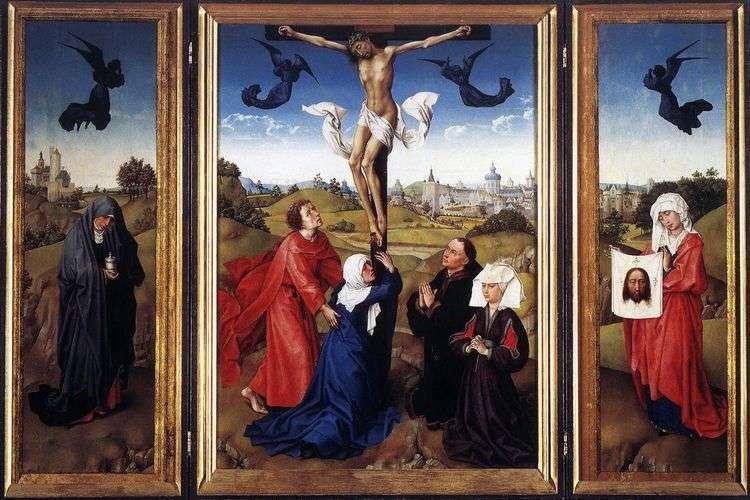 Триптих Распятие   Рогир ван дер Вейден