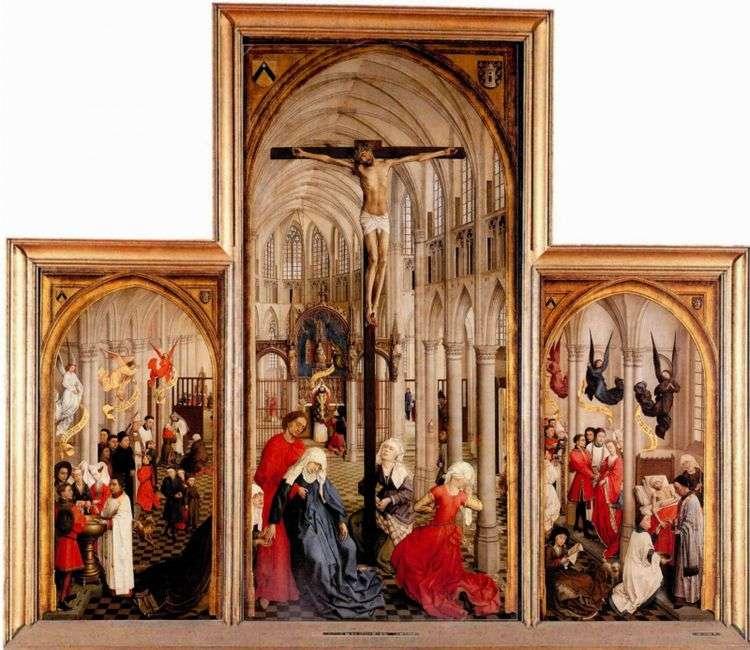 Триптих Семь таинств   Рогир ван дер Вейден