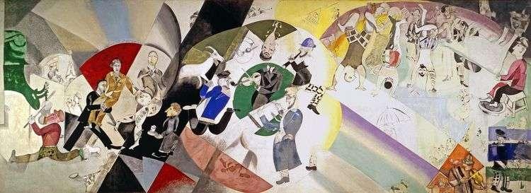 Введение в новый еврейский театр   Марк Шагал