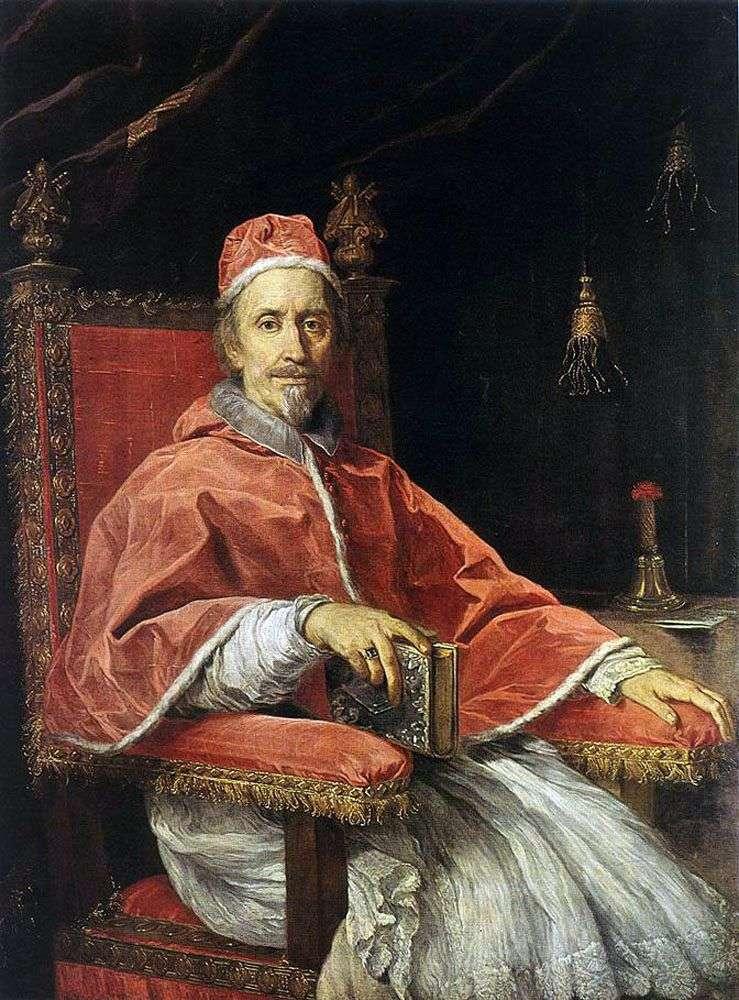 Портрет Папы Климента IX   Карло Маратта