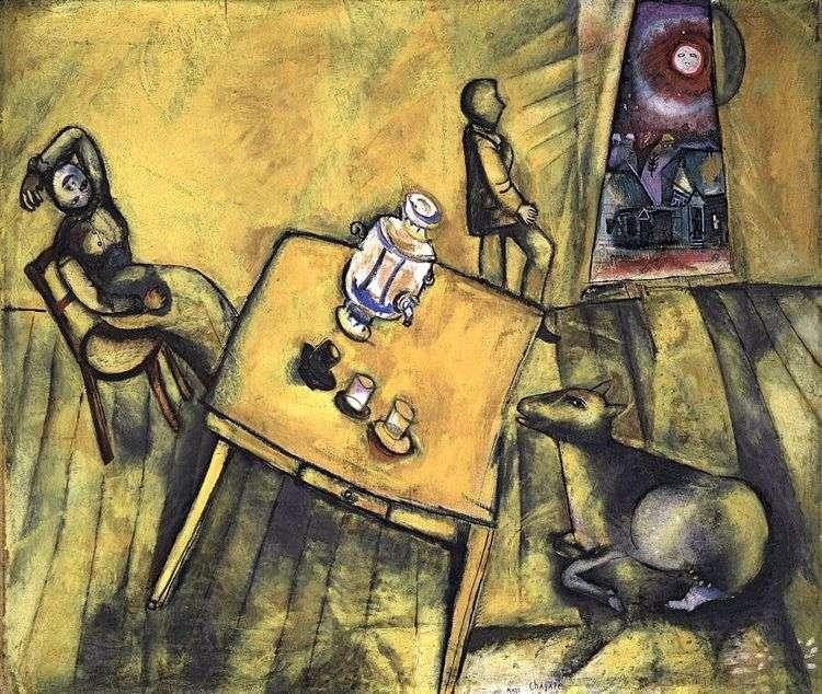Желтая комната   Марк Шагал