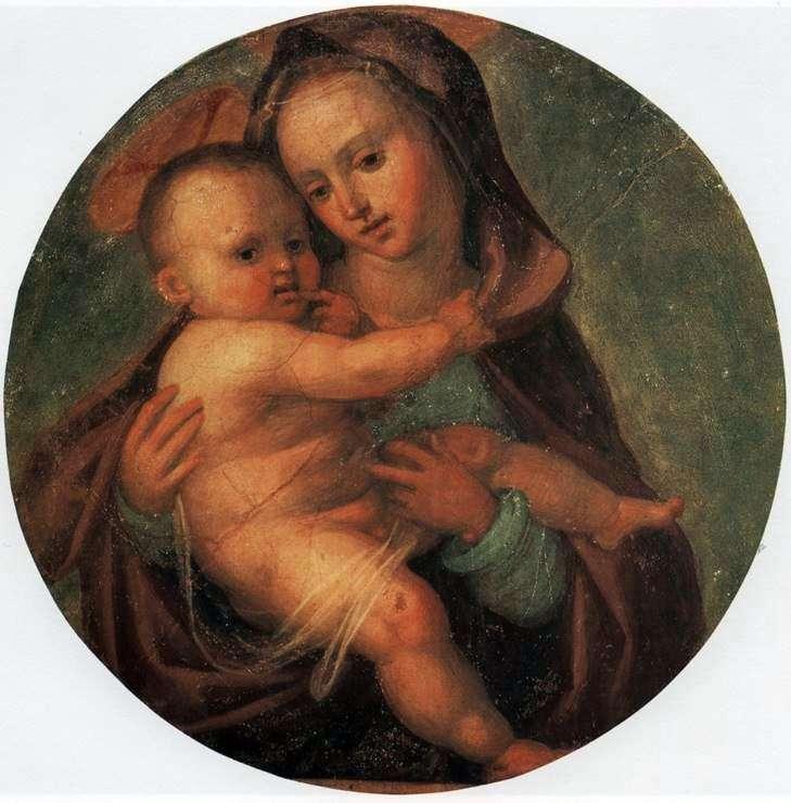 Мадонна с младенцем   Фра Бартоломео