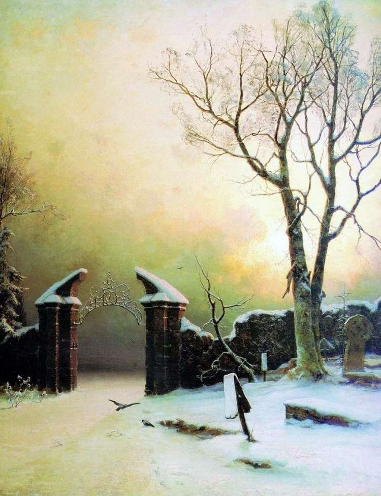 Забытое кладбище   Юлий Клевер