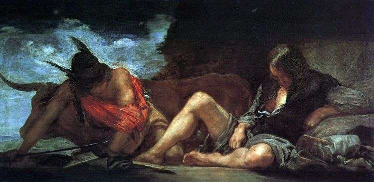 Меркурий и Аргус   Диего Веласкес