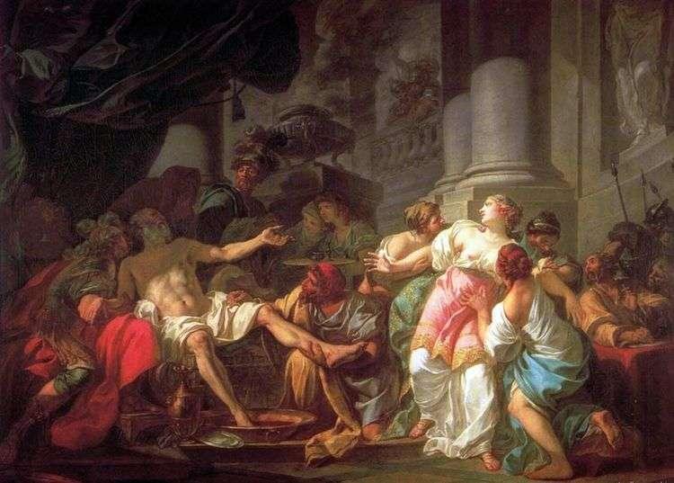 Смерть Сенеки   Жак Луи Давид