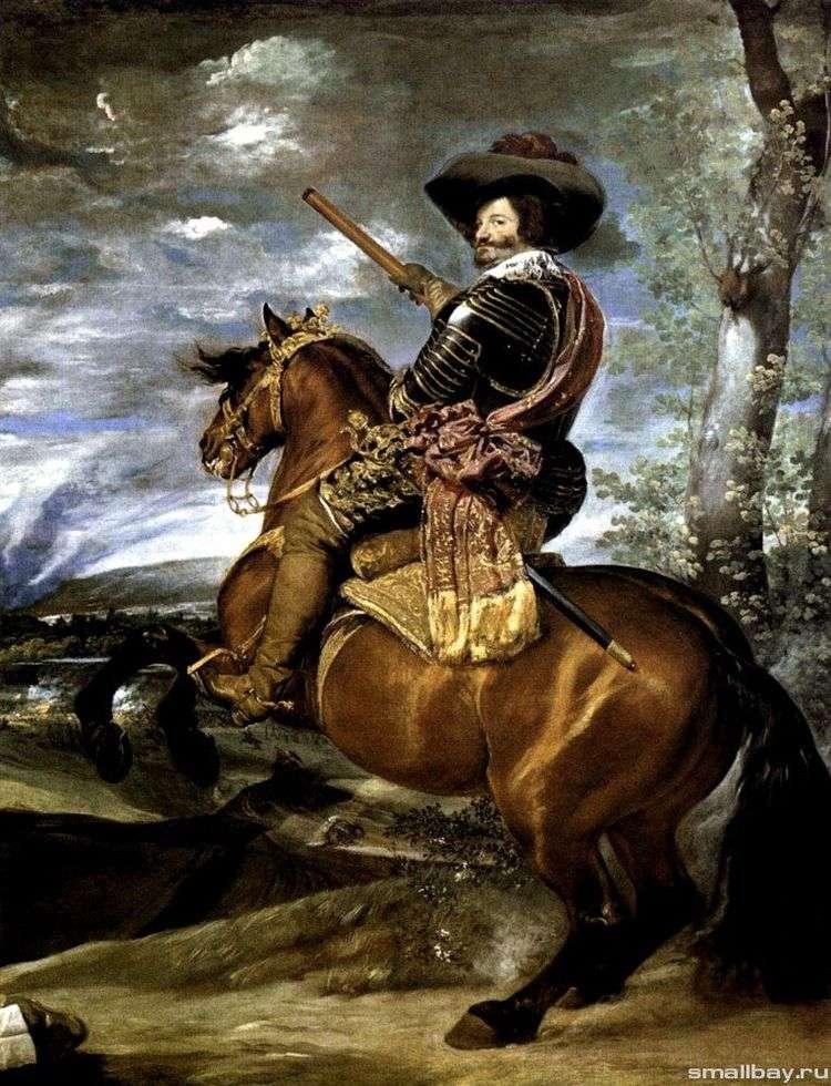 Портрет графа герцога Оливареса   Диего Веласкес