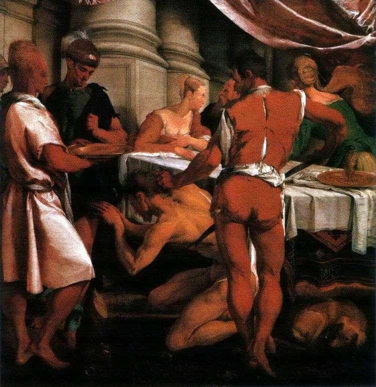 Казнь Иоанна Крестителя   Якопо Бассано
