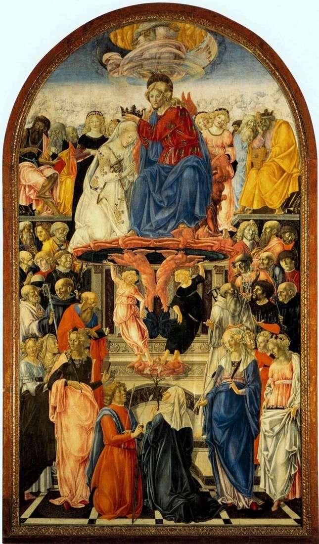 Коронование Марии   Франческо ди Джорджо Мартини