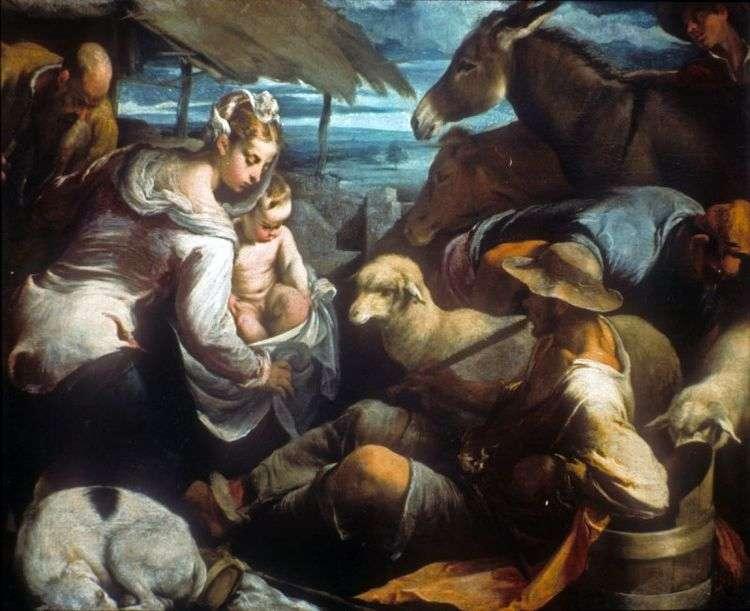 Поклонение пастухов   Якопо Бассано