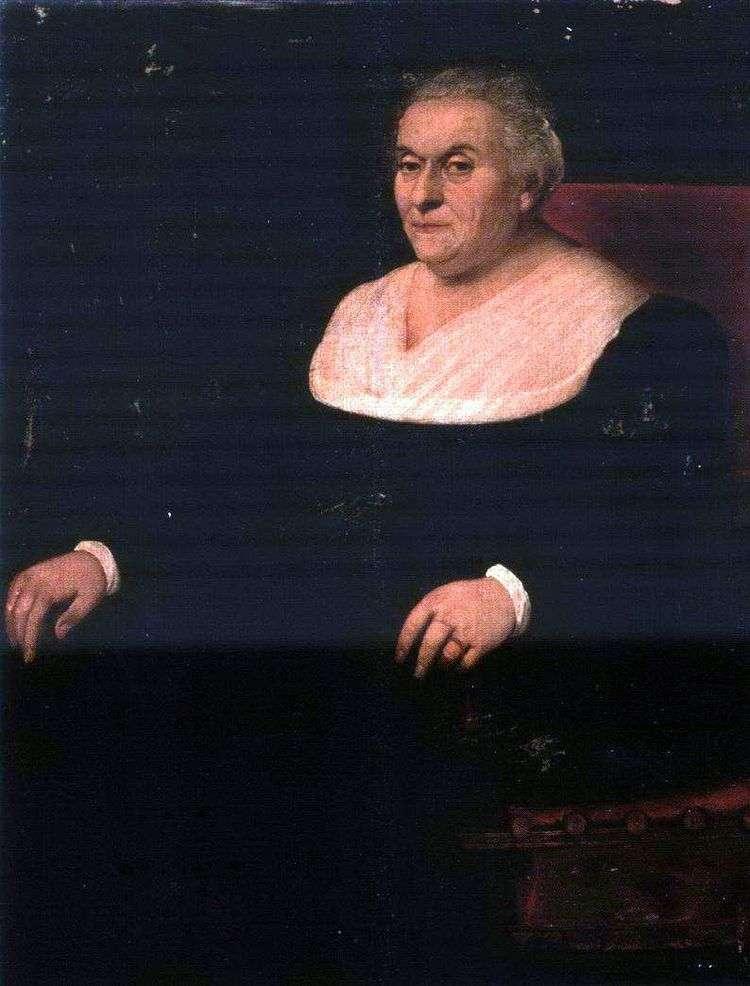 Портрет женщины   Якопо Бассано