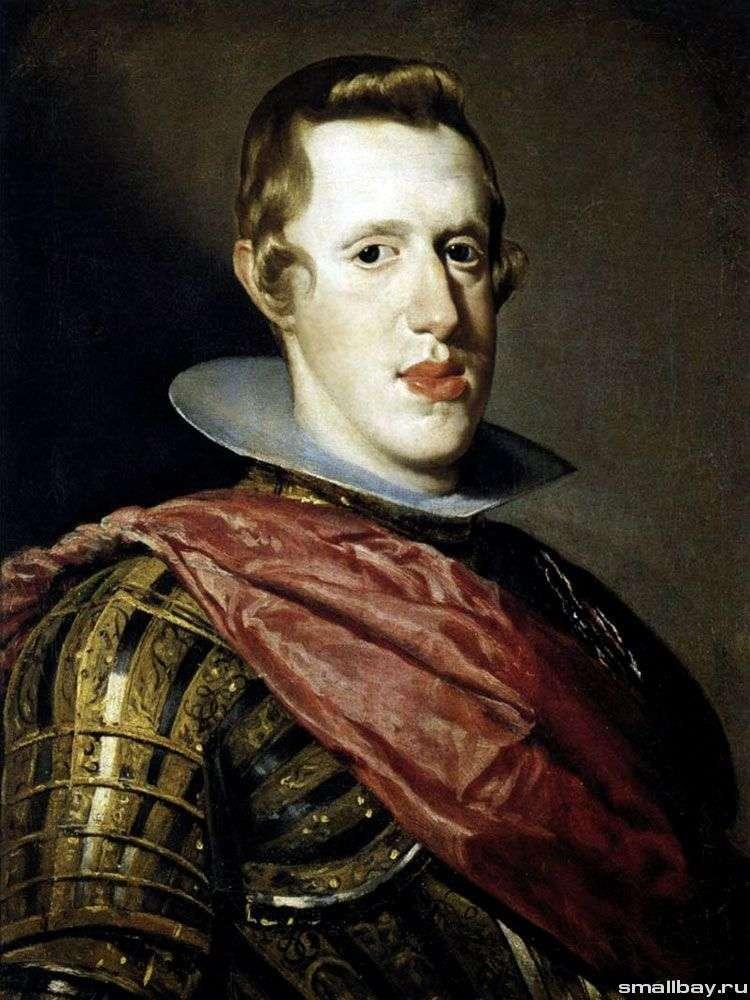 Портрет короля Испании Филиппа IV в доспехах   Диего Веласкес